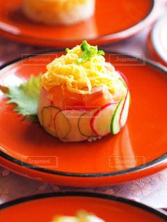 ミニケーキ寿司の写真・画像素材[1030634]