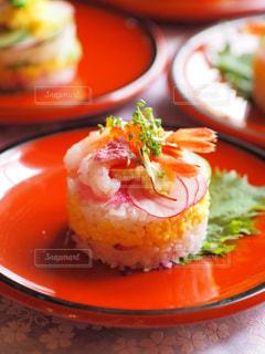 ミニケーキ寿司の写真・画像素材[1030637]