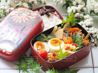 お弁当の写真・画像素材[2037178]