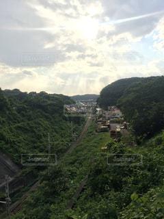 山のビューの写真・画像素材[726724]
