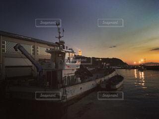 水体の大型船の写真・画像素材[766765]