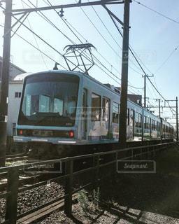 鋼のトラックの列車の写真・画像素材[766776]
