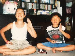 瞑想の写真・画像素材[1319005]