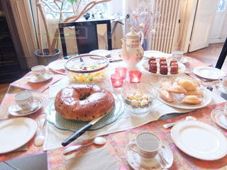 食卓の写真・画像素材[6611]