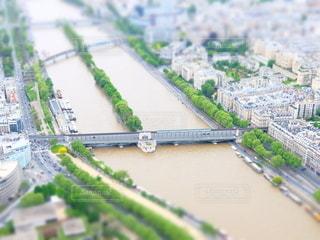 エッフェル塔からの眺めの写真・画像素材[6601]