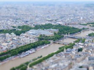 エッフェル塔からの眺めの写真・画像素材[6600]