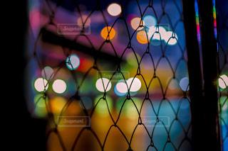 近くのワイヤー フェンスの写真・画像素材[964799]