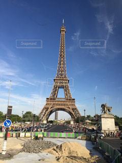 エッフェル塔の写真・画像素材[243146]