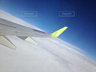 空と雲と飛行機 - No.957156