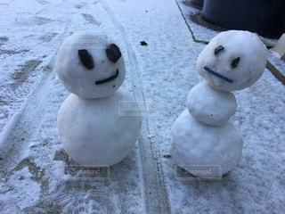 雪だるまの写真・画像素材[1014855]