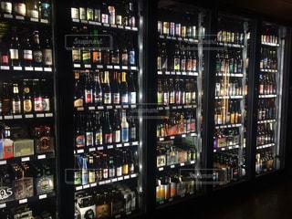 クラフトビールコレクションの写真・画像素材[729439]