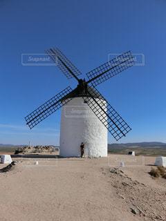 スペインの風車の写真・画像素材[771715]