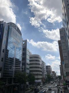 都市の高層ビルの写真・画像素材[1291779]