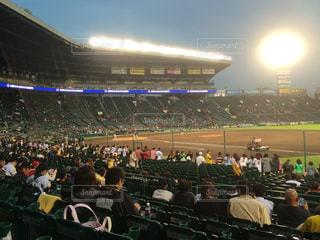 スポーツ,野球,ナイター,球場,甲子園