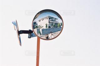 ミラーの反射の写真・画像素材[913651]