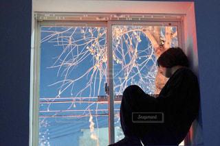 出窓の写真・画像素材[995965]