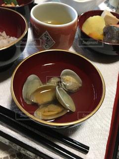 お食い初めの料理の写真・画像素材[867979]