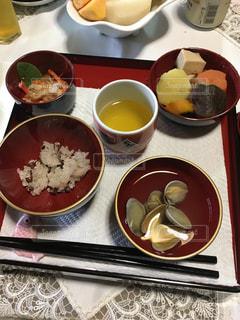 お食い初めの料理の写真・画像素材[867980]