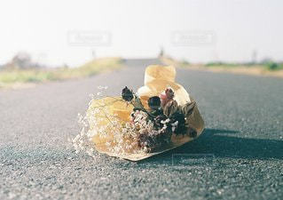 近くの道路をの写真・画像素材[1082]