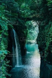 宮崎 高千穂峡 日本名滝100選 真名井の滝の写真・画像素材[3879611]