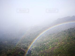 二重の虹の写真・画像素材[759703]
