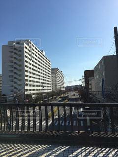 歩道橋からの景色の写真・画像素材[1007723]