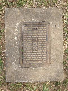 散水栓のアップの写真・画像素材[1010694]
