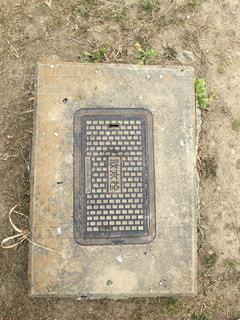 道端の散水栓の写真・画像素材[1017873]