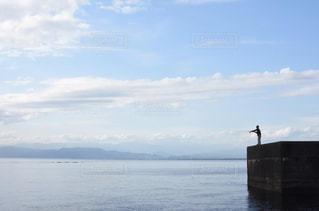 水の大きな体の写真・画像素材[866531]