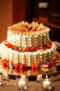 ウェディングケーキの写真・画像素材[776017]