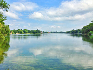 湖の写真・画像素材[406732]