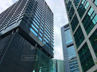 高層ビルの都市の景色の写真・画像素材[790334]