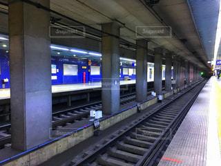 電車の駅の写真・画像素材[1085629]