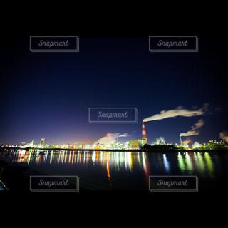 四日市の工場夜景の写真・画像素材[997827]