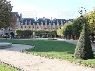 パリの公園の写真・画像素材[805899]