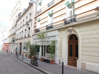 パリの通り道の写真・画像素材[805919]
