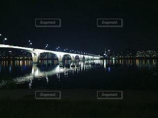 夜,橋,夜景,絶景,海外,世界の絶景,韓国,夜空と夜景,ソウル川