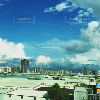 台湾の夏空の写真・画像素材[1281614]