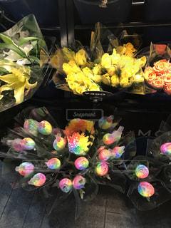 色とりどりの花の写真・画像素材[880308]