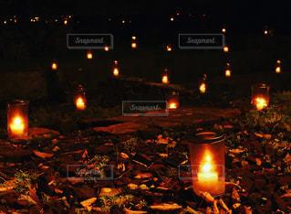 夜景の写真・画像素材[256202]