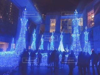 クリスマスイルミネーションの写真・画像素材[884576]