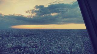 東京の上空の写真・画像素材[884597]