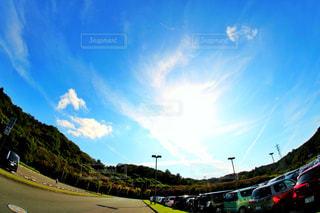 空と太陽と雲の写真・画像素材[800790]