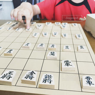 将棋で勝負だ!!の写真・画像素材[1531033]