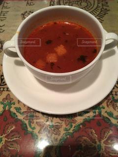トマトスープの写真・画像素材[921269]