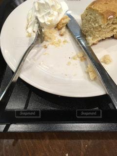 食べかけの写真・画像素材[934653]