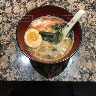 寿司屋のミニラーメンの写真・画像素材[1136767]