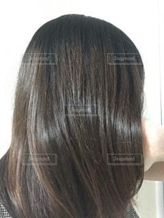 トリートメント後の髪♪の写真・画像素材[1084310]