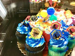 ハワイのカラフルなカップケーキ♪の写真・画像素材[1089878]