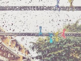 雨の日は洗濯物はお休みです。の写真・画像素材[1275097]